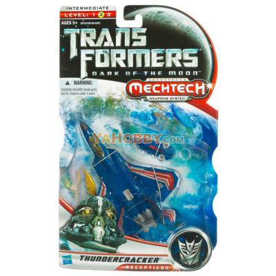 Transformers Dark Of The Moon Mechtech Deluxe Thundercracker