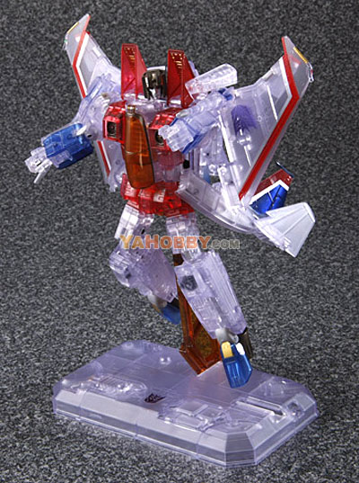 Transformers Masterpiece MP-03G Clear Ghost Starscream