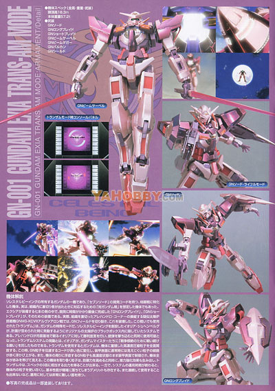 Gundam 00 1/100 Model Kit GN-001 Gundam Exia EXF (Trans-Am Mode)
