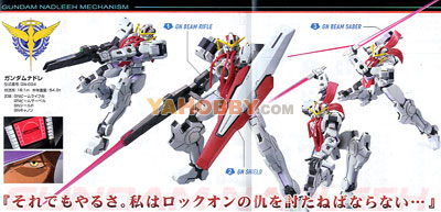 Gundam High Grade 1/144 Model Kit HG Gundam Nadleeh