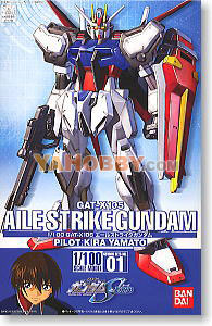 Gundam Seed Destiny 1/100 Model Kit GAT-X105 Aile Strike Gundam