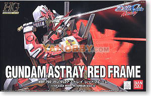 Gundam Seed Destiny HG 1/144 Model Kit Gundam Astray Red Frame