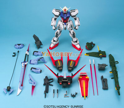 Gundam Seed 1/60 Model Kit Strike Gundam Striker Weapon System