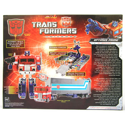 Transformers 25th Anniversary Optimus Prime Collector Pack