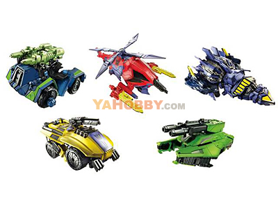 Transformers 2012 Generations Series 02 FOC Bruticus Set of 5