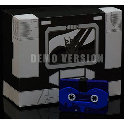 Transformers iGear Autoscout Cassette Set Black Version