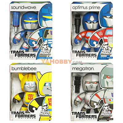 Transformers Mighty Muggs Wave 01 Case of 4