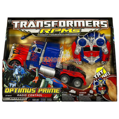 Transformers Radio Control RPMs Vehicle RC Optimus Prime