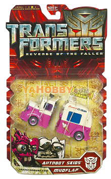 Transformers 2009 Movie 2 ROTF Deluxe Autobot Skids Mudflap