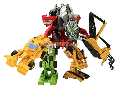 Transformers Movie 2 EZ Collection Devastator Assortment Set of 7