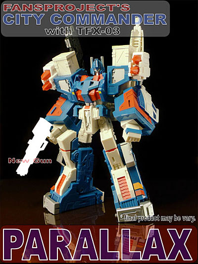 Transformers Ultra Magnus City Commander Trailer with TFX-03