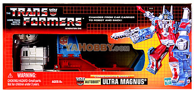 Hasbro Commemorative Transformers TRU G1 Reissue Ultra Magnus