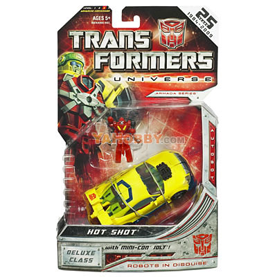Transformers Universe Deluxe - Wave 06 - Hot Shot