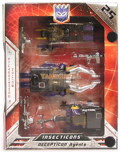 Transformers Universe Insecticons G1 Encore Commemorative