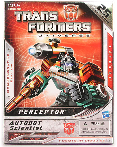 Transformers Universe Perceptor G1 Encore Commemorative Edition