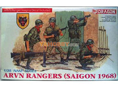 1:35 Dragon ARVN Rangers Saigon 1968 3314