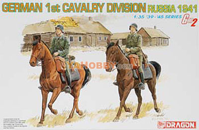 1:35 Dragon German 1st Cavalry Division Russia 1941 6216