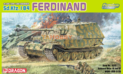 1:35 Dragon Ferdinand Sd.Kfz.184 Premium Edition 6317