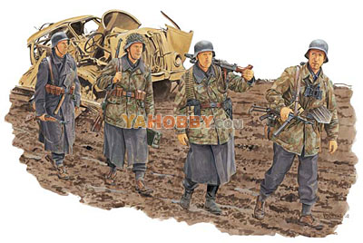 1:35 Dragon German Infantry HG Division Anzio 1944 6158