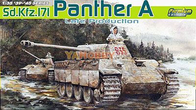 1:35 Dragon SdKfz 171 Panther A Late Production Premium 6358