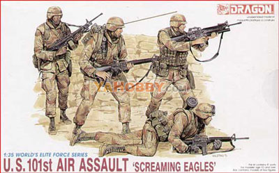 1:35 Dragon US 101st Airborne Assault Screaming Eagles 3011
