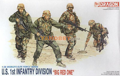 1:35 Dragon US 1st Infantry Division Big Red One 3015