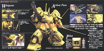 Gundam Master Grade 1/100 Model Kit MG PMX-003 THE-O