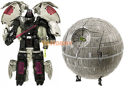 Star Wars Transformers Darth Vader Death Star
