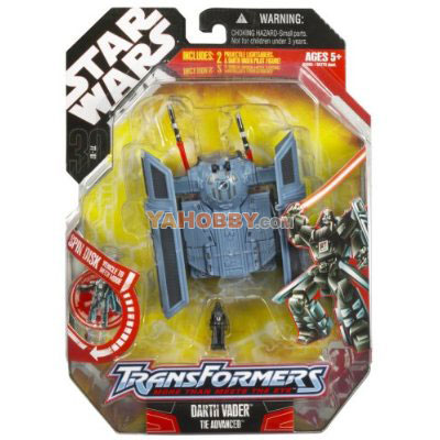 Star Wars Transformers Darth Vader Tie Advanced