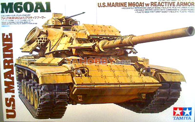 1:35 Tamiya Model Kit M60A1 with Reactive Armor 35157