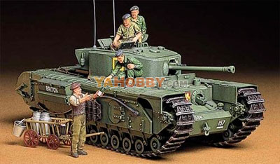 1:35 Tamiya Model Kit Churchill Infantry Tank Mk VII 35210