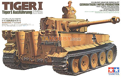 1:35 Tamiya Model Kit German Tiger 1 Initial Production 35227