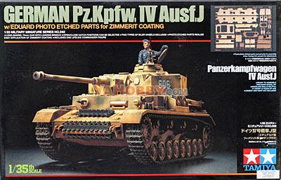 1:35 Tamiya Model Kit German Pz.Kpfw.IV Ausf.J 35262