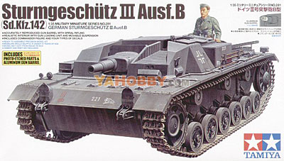 1:35 Tamiya Model Kit German Sturmgeschutz III Ausf.B 35281
