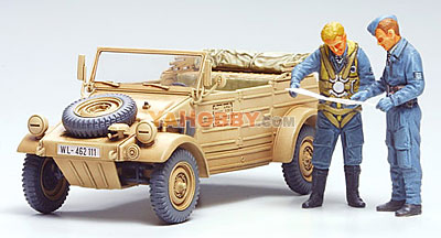 1:48 Tamiya Model Kit German Kubelwagen Type 82 32501