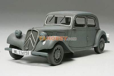 1:48 Tamiya Model Kit Citroen Traction 11Cv Staff Car 32517