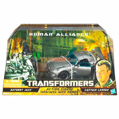 Transformers 2010 Human Alliance Series 01 Case of 2
