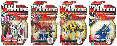 Transformers 2010 Generations Series 02 Set of 4