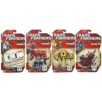 Transformers 2010 Generations Series 01 Set of 4