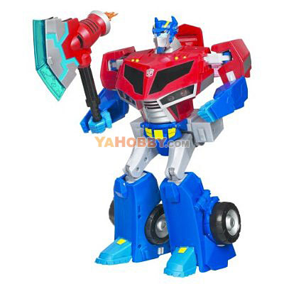 Transformers Animated Supreme Roll Out Command Optimus Prime