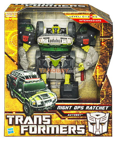 Transformers 2010 Movie 2 ROTF Voyager Night Ops Ratchet