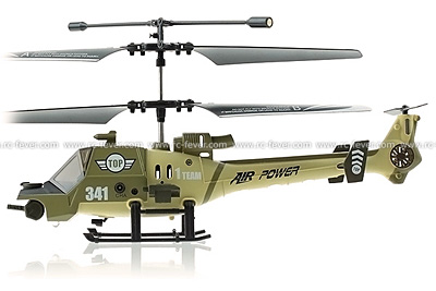 JXD 341 Thunder Dragon 3CH RC Helicopter RTF w/ Gyro (Green)