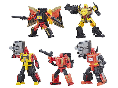 Hasbro Transformers Power of the Primes Predaking set of 5