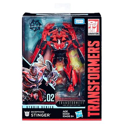 Hasbro Transformers Studio Series 02 Movie 3 Deluxe Class Stinger