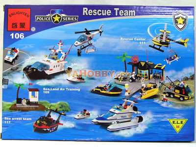 ENLIGHTEN Building Blocks Bricks Rescue Team 106