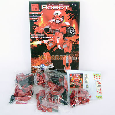 ENLIGHTEN Building Blocks Bricks Robot BLAZE PALADIN 119