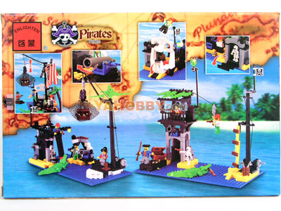 ENLIGHTEN Building Blocks Bricks Corsair Sunken Boat 302