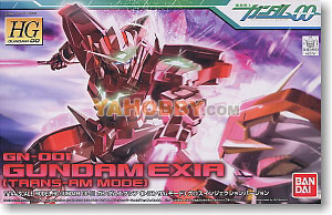 Gundam High Grade 1/144 Model Kit Gundam Exia Trans-Am Mode
