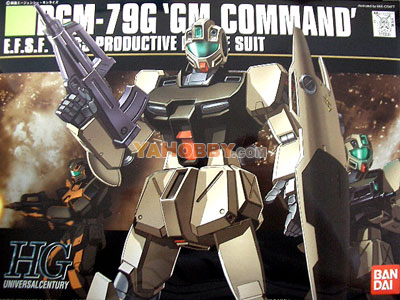 Gundam HGUC 1/144 Model Kit RGM-79G GM Command