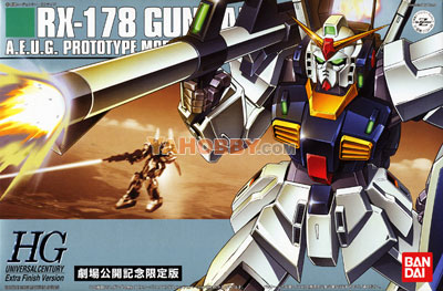Gundam HGUC 1/144 Model Kit RX-178 Extra Finish